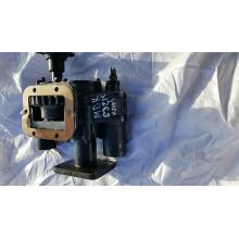 КОМ53215- 91.92.000-09 с пневмотическим влючением  для КамАЗа  с переходной плитой под гидронасосом 310.3.56.04.06 левого вращения