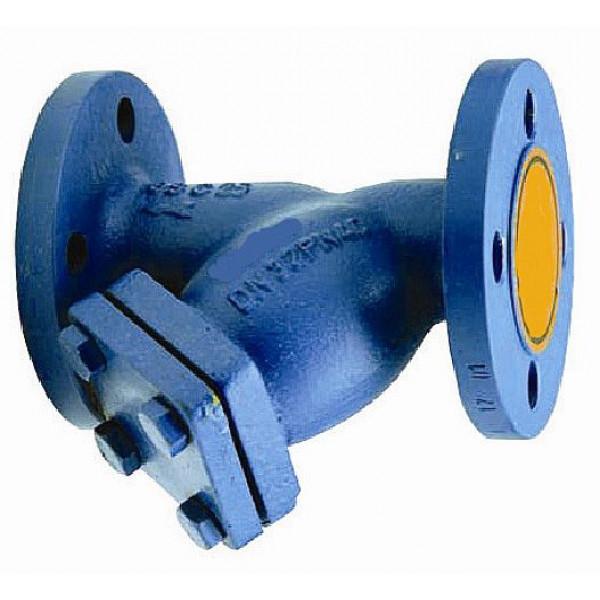 Фильтр грязеуловитель фланцевый СУГ Ду65 Ру25 тип ВРТ