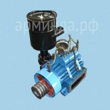 ВР-8/2.5 с системой смазки, шкивом, защитой, воздушный фильтр