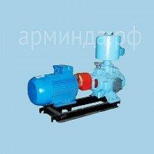 Водокольцевой насос ВВН 1-3 на раме  с электродвигателем 15 кВт общепром