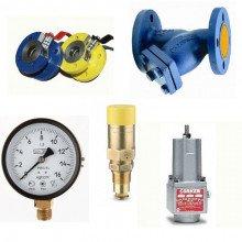 Краны, манометры, клапана, фильтры, уровнемеры, шланги (135)