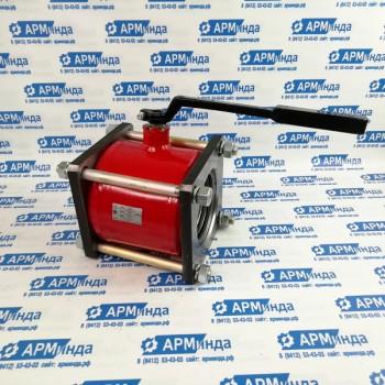 Кран шаровый КШЦМФ для бензовоза и битумовоза ДУ100