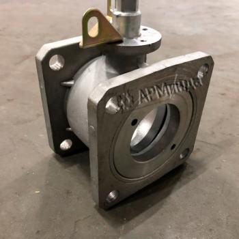 Кран шаровой алюминиевый DN 65