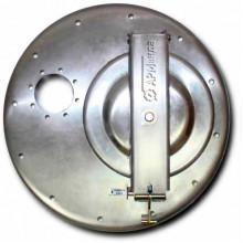 Крышка люка горловины алюминиевая с отбортовкой ЛА600 АМГ-3М-002