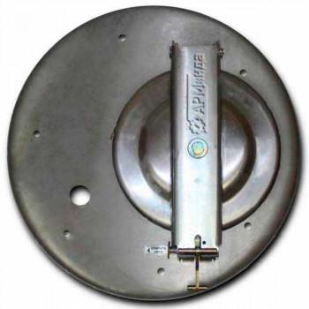 Крышка люка горловины алюминиевая с отбортовкой ЛА600 АМГ-3М-003