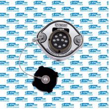 Розетка 10-контактная EN13922 c пневмопереключателем 4403B