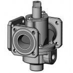 Битумный стальной трехходовой кран К-65-III-003 ф65 мм Ст 20 с паровым или масленым обогревом