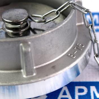 Заглушка Storz (Шторц) тип B-DIN, для шланга ДУ75