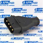 Разъемы и соединители штыревые, штекерные, четырехконтактные ШК 4х60