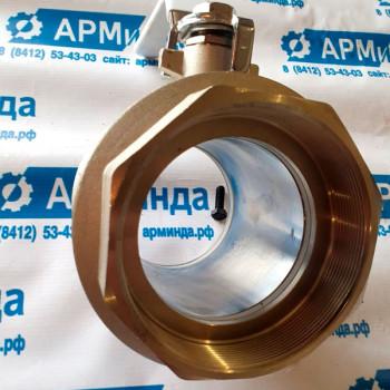 """Кран шаровой полнопроходной 4"""" (DN100мм) PN16 для муковоза и кормовоза"""