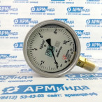 Манометр избыточного давления ДМ8008-ВУф 0-10 кгс/см2 кт.1,0