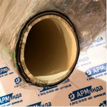 """Напорно-всасывающий абразивостойкий  шланг с белым внутренним слоем для муки внутренний диаметр 4"""" (100мм)"""
