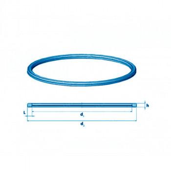 Уплотнитель заливного люка Benalu 437 мм профиль 16,5 мм
