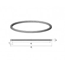 Уплотнитель заливного люка Benalu 440 мм профиль 18 на 21 мм