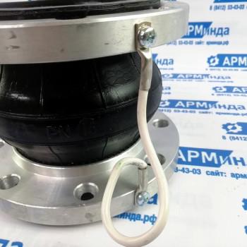 Резиновый фланцевый компенсатор DN 100 PN 16