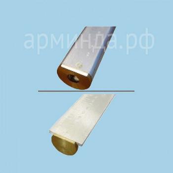 Метрошток МШС-2,0 м. с 1 звеном, круглого или Т-образного профиля
