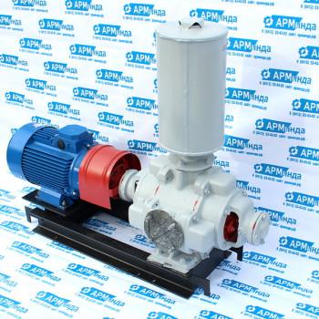 Агрегат водокольцевого насоса ВВНЭ с эжекторной приставкой